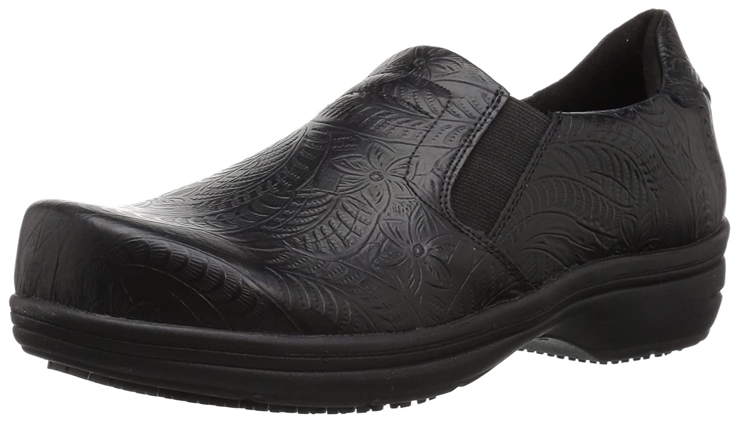Easy Works レディース BIND Black Embossed 9.5 2W US 9.5 2W USBlack Embossed B075M7L8N5