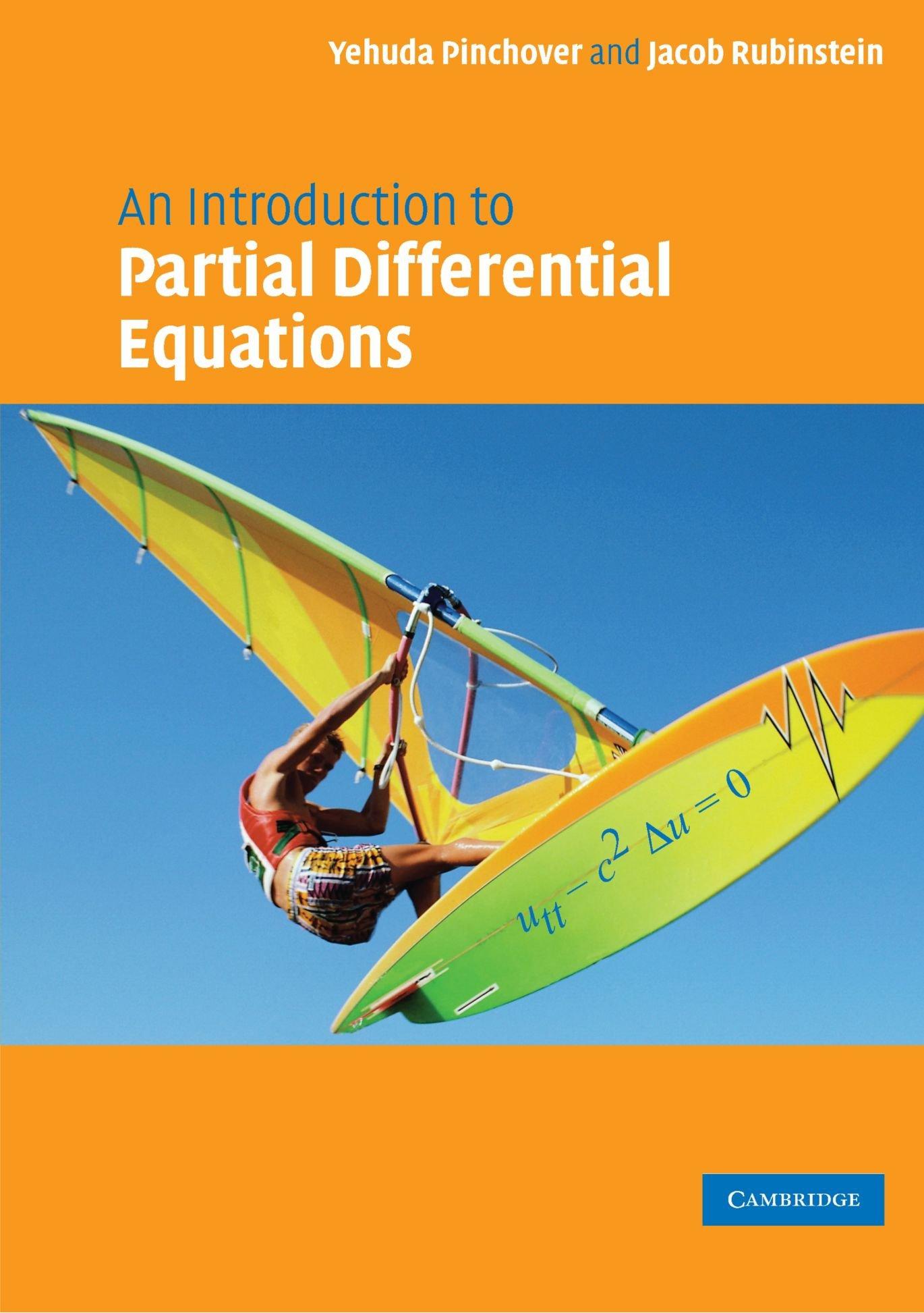 ECUACIONES DIFERENCIALES PARCIALES - PINCHOVER 71-H7DlypPL