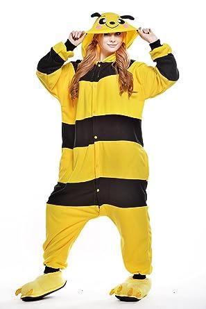 Shining Life Little Bees Pyjamas Kigurumi Halloween Onesie Costume (XL)