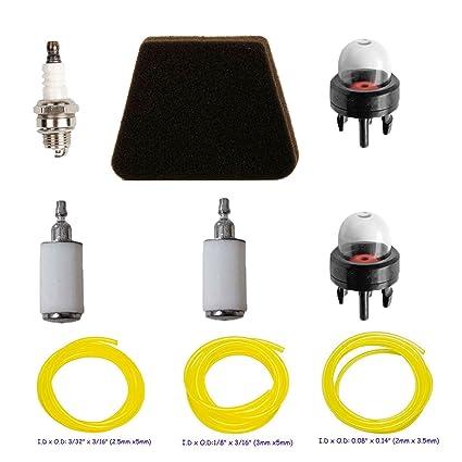 Amazon Com Hifrom Air Filter Fuel Filter Primer Bulb Spark Plug