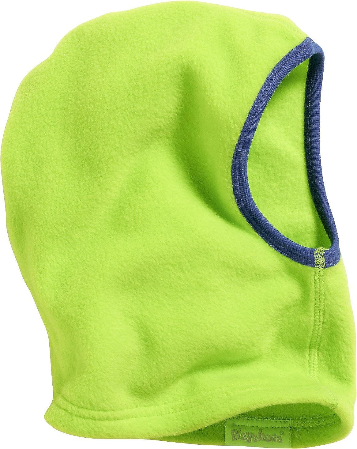 Playshoes Kinder Helmm/ütze aus Fleece einfarbig softe und atmungsaktive Schlupfm/ütze