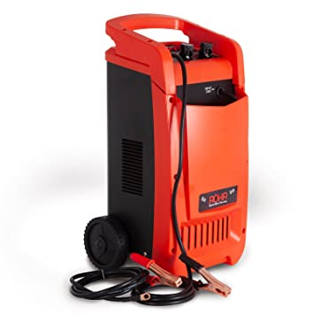 Röhr DFC-450P - Cargador de Batería para Turbo/camioneta, Portátil, 1200 W, 12 V/24 V, 40 A/50 A/70 A Máx.: Amazon.es: Coche y moto