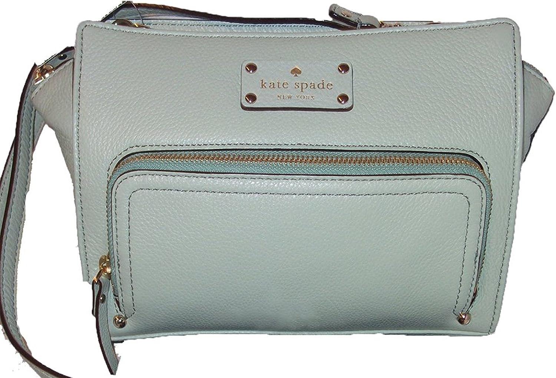 Dusty Mint Kate Spade New York Baxter Street Sevilla Leather Crossbody