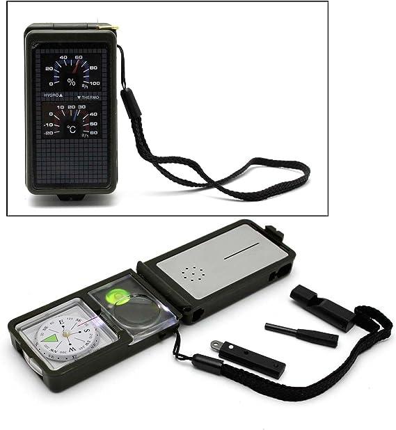 hnnew Multifunktions 6 in 1 EDC Gadget Outdoor-Ausrüstung Camping Schlüssel