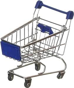 OddBits Small Shopping Cart - Blue