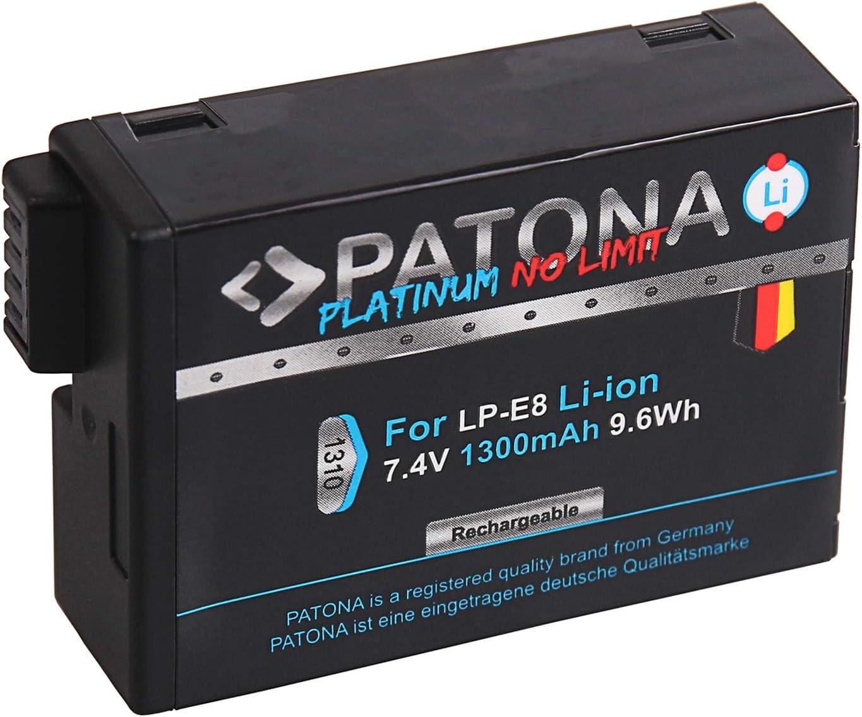 Lp-e8 batería patonas para premium para Canon EOS 550d eos 600d eos 650d eos 700d