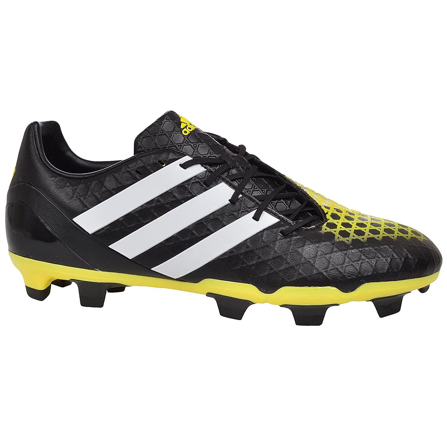 7e1f6d1dc5f Predator Incurza FG Football Boots - Adult - Core Black White Bright  Yellow  Amazon.co.uk  Shoes   Bags