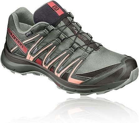 Salomon XA Lite GTX W, Zapatillas de Trail Running para Mujer, Gris (Shadow/Beluga/Peach Nectar), 36 EU: Amazon.es: Zapatos y complementos