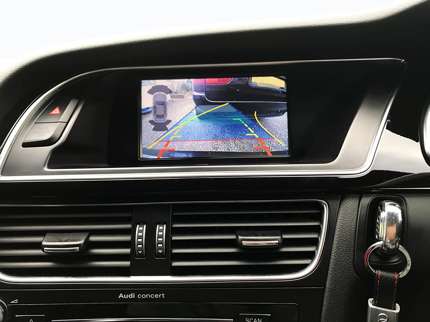 Audi Navigation Upgrade Audi CarPlay with Reversing Camera Interface for  Audi B8/B8.5 A4 A5 Q5 2007-2015 for Concert Symphony Stereo GPS Latest  Technology: ...