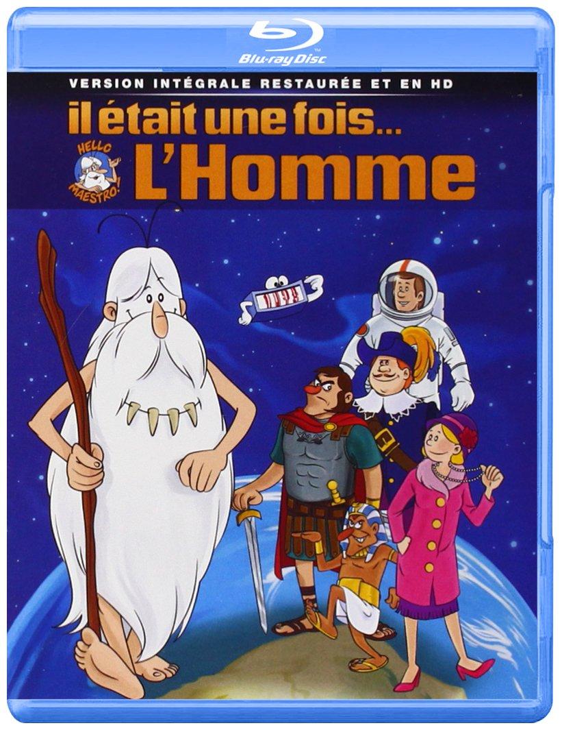Il était une fois... l'homme - Intégrale [Francia] [Blu-ray]