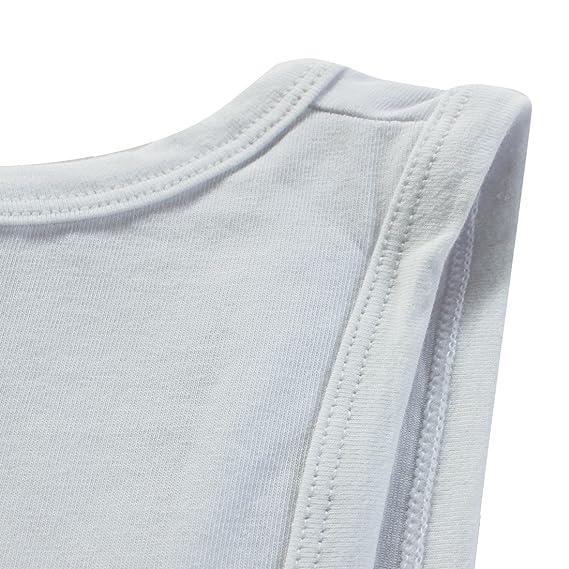 iEFiEL Mono Body para Hombre Pijamas de Dormir Algodón Sudaderas Deportivas sin Mangas Hombre: Amazon.es: Ropa y accesorios
