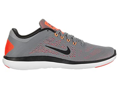 00cd4d81053e7 Image Unavailable. Image not available for. Color  Nike Men s Flex 2016 RN  Running Shoe Cool Grey Black White ...