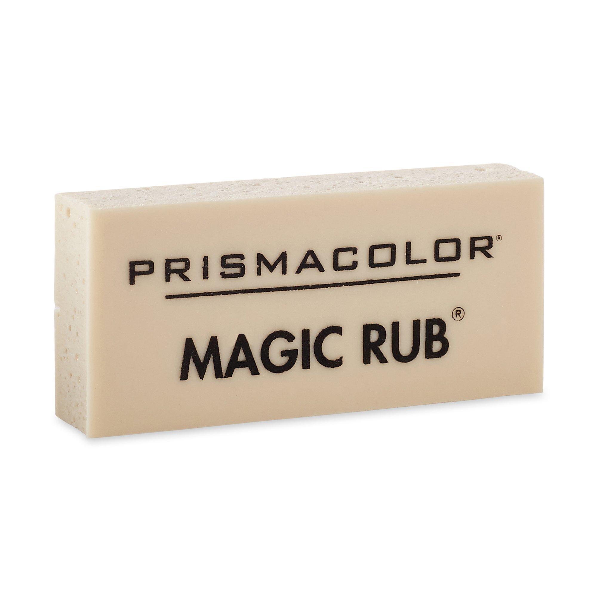Prismacolor Premier Magic Rub Vinyl Erasers, 3-Count by Prismacolor (Image #1)