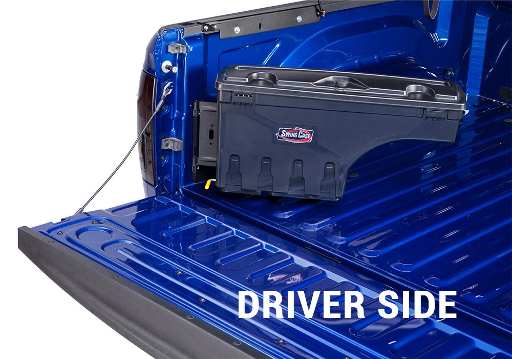 UnderCover SwingCase Truck Storage Box | SC203D | fits 2015-2019 Ford F-150 Drivers Side
