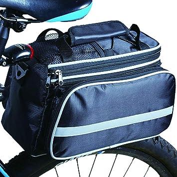 Amazon.com: OneBelief - Bolsa para bicicleta, asiento ...