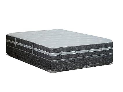 Amazoncom Wayton 12 Medium Firm Foam Encased Eurotop Pillowtop