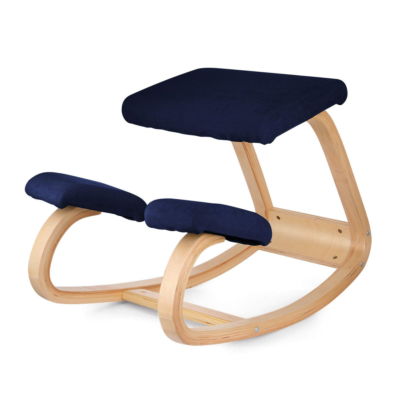 Office Study Kneeling Chair Bentwood Ergonomic Wood Chair Comfortable Relieve Stress Durable Design by Eosphorus BS