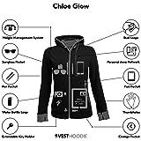 SCOTTeVEST Chloe Glow - Womens Hoodies