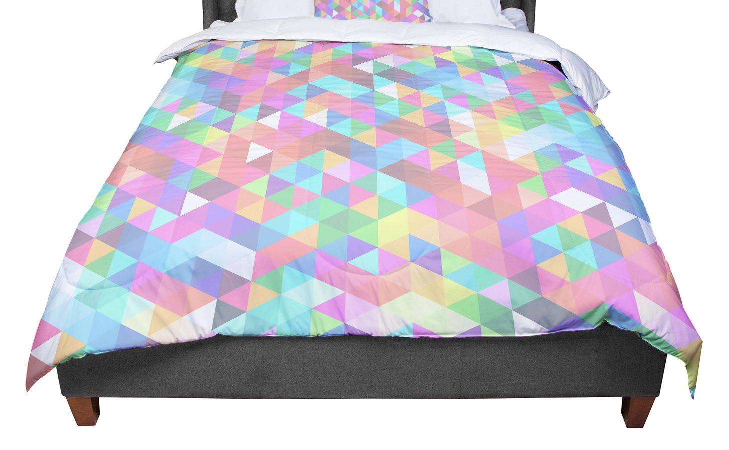 KESS InHouse Julie Hamilton Rhapsody Purple Pink Twin Comforter 68 X 88
