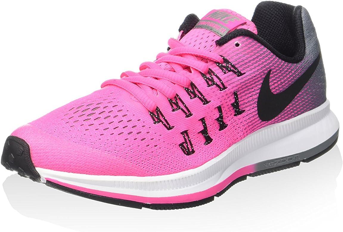 Nike Zoom Pegasus 33 (GS), Zapatillas de Deporte para Mujer, Rosa (Rosa (Pink Blast/Black-Cl Grey-White), 36 EU: Amazon.es: Zapatos y complementos