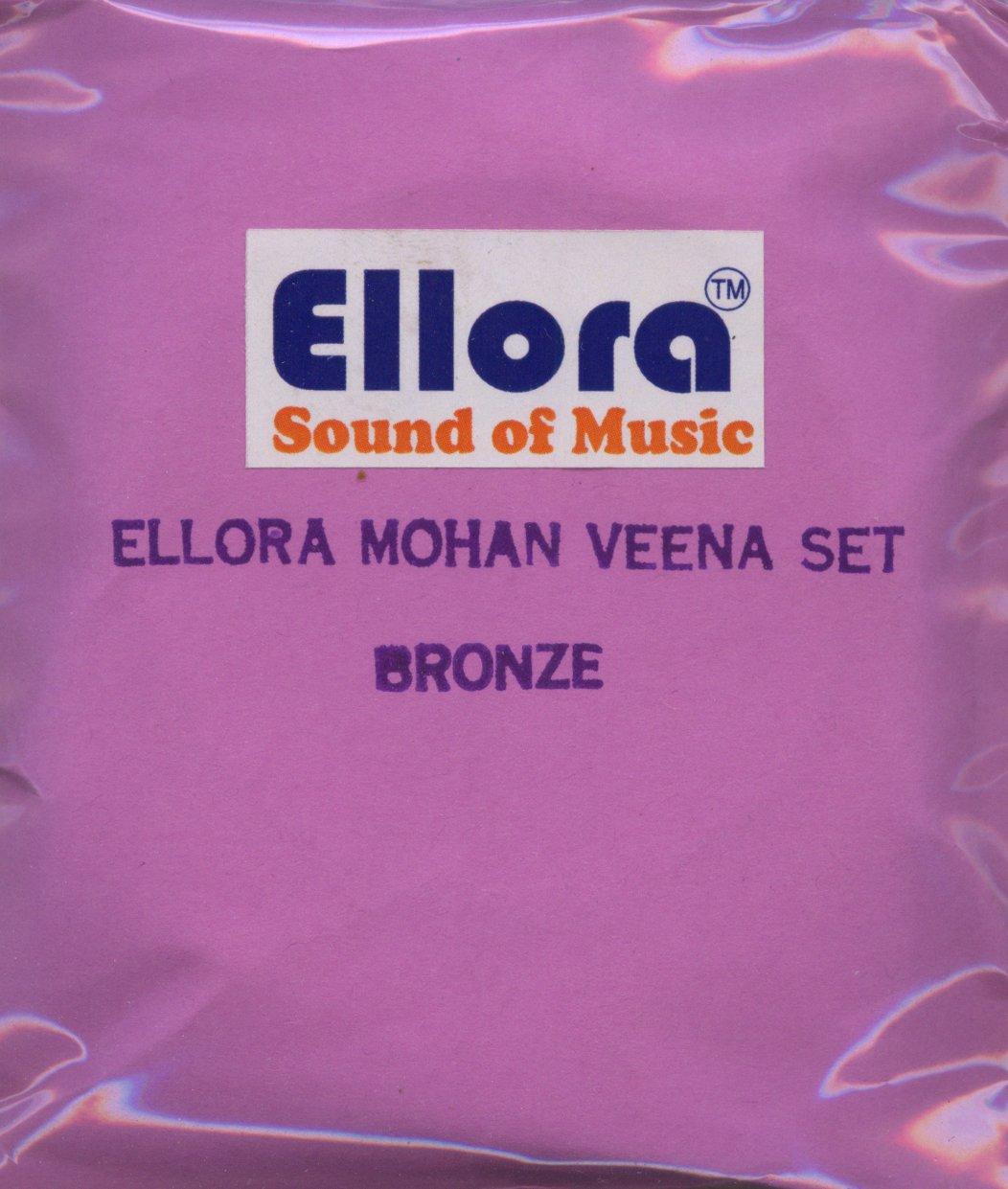 Mohan Veena Strings, Bronze, Ellora, Professional, Sympathetic Tarabh Strings