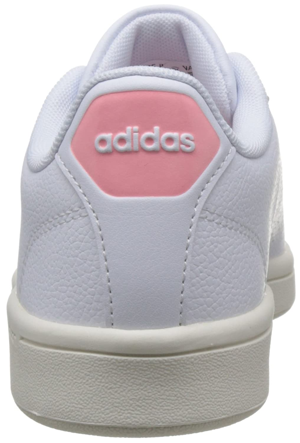purchase cheap 62a89 6b6f8 adidas Cloudfoam Advantage Clean W, Scarpe da Ginnastica Basse Donna, Bianco  Footwear White Ray Pink, 44 EU  Amazon.it  Scarpe e borse