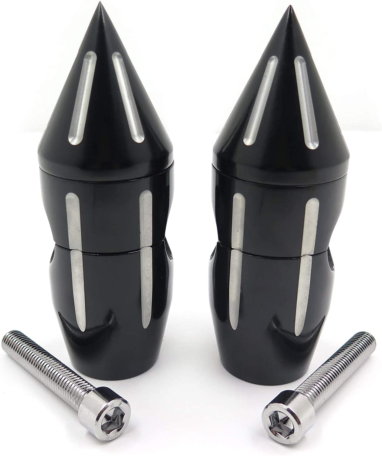 Parts Replacement of Motor Black 1Spike Handlebar Risers 2 for ...