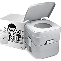 ZIMMER Portable Composting Toilet Camping Porta Potty