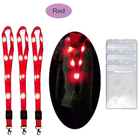 Amazon.com: Cadena de luces LED de 7 piezas con luz ...