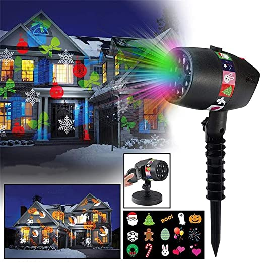 YLOVOW Decoración Navideña Luces para Proyectores Decoración ...