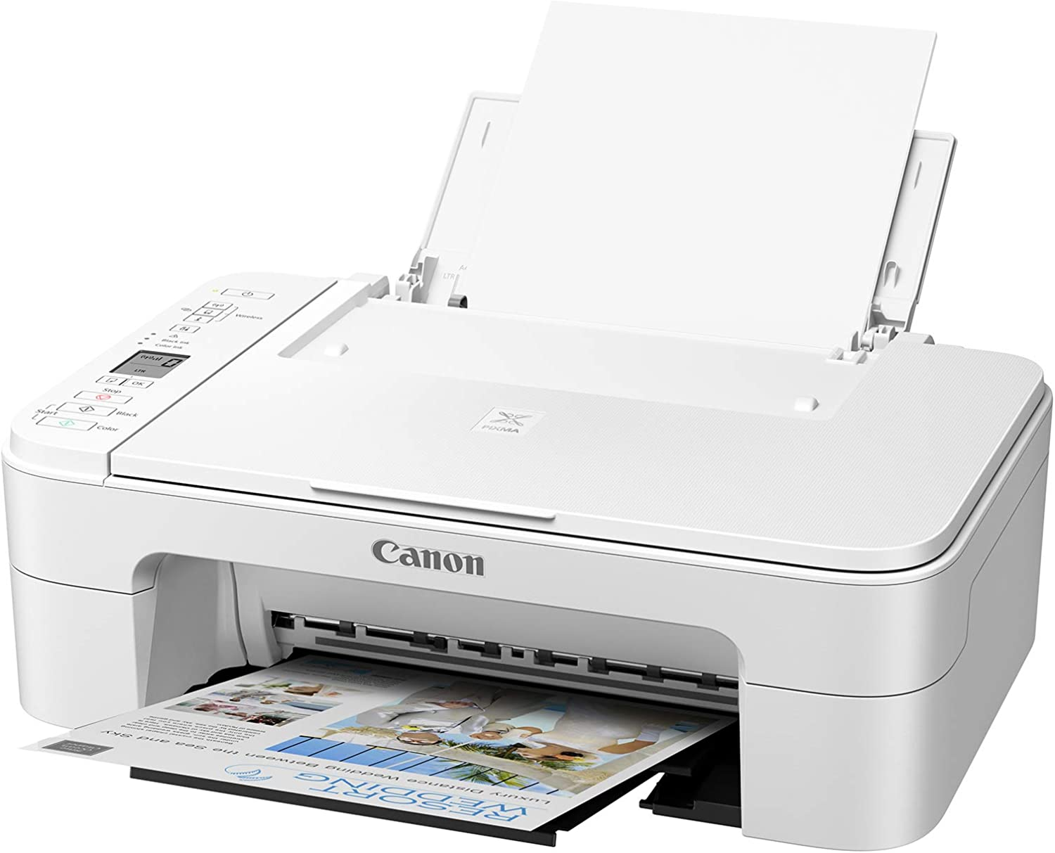 Canon TS3322 Wireless All in One Printer - White