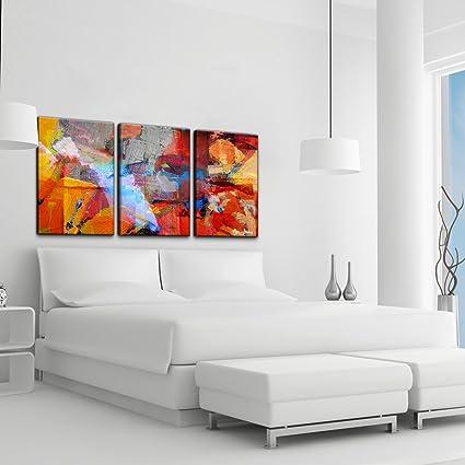 Amazon.com: Alexis Bueno Abstract 3-pc Canvas Wall Art: Prints ...