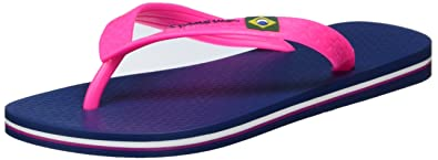 Ipanema Damen Classic Brazil II Fem Zehentrenner, Mehrfarbig (blue/pink-8184), 38 EU
