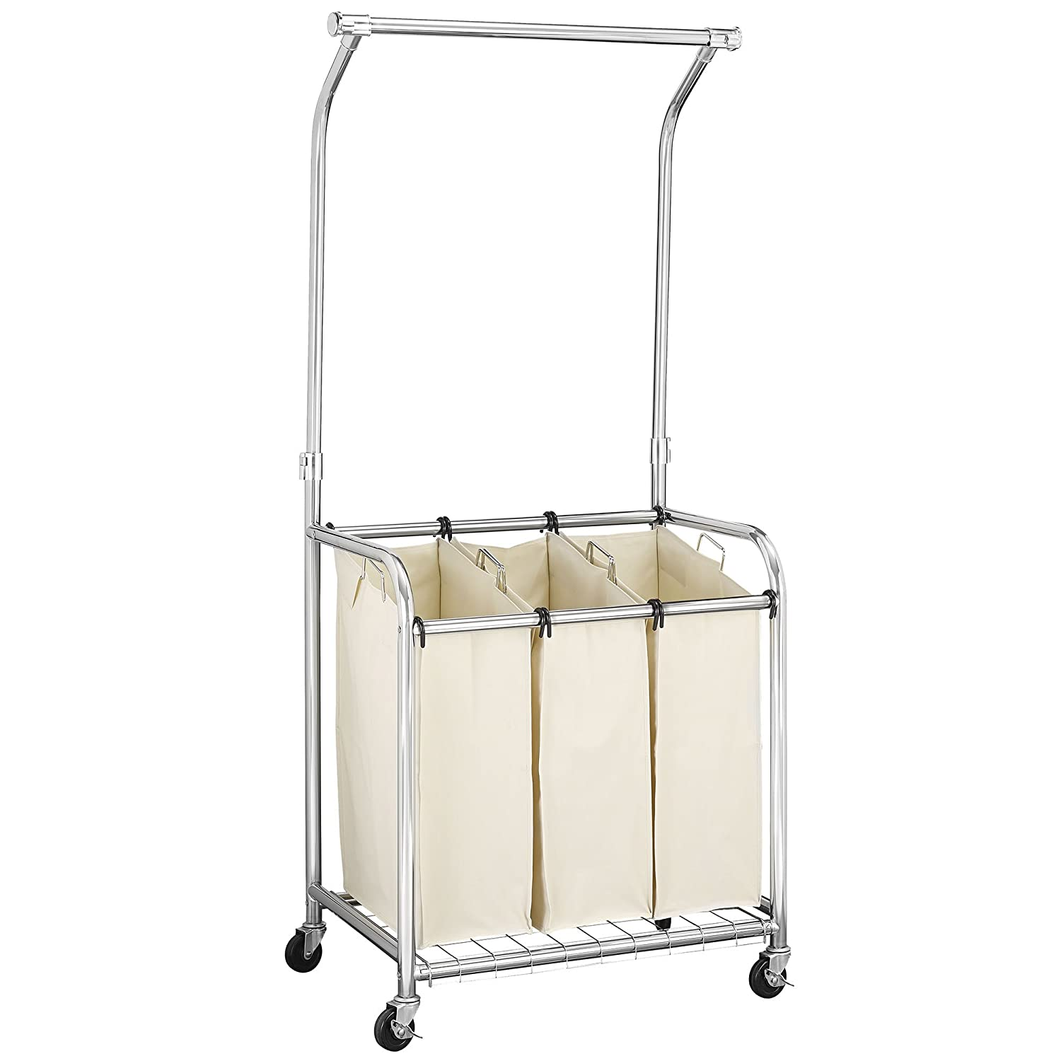Household Essentials Commercial Laundry Center with Clothes Rack 6027-1