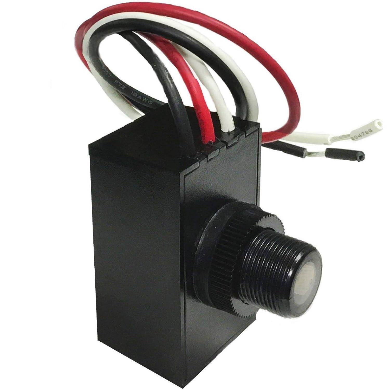 Amazon.com: Hawk Lighting Multi-Volt 120-277V Outdoor Button Eye ...