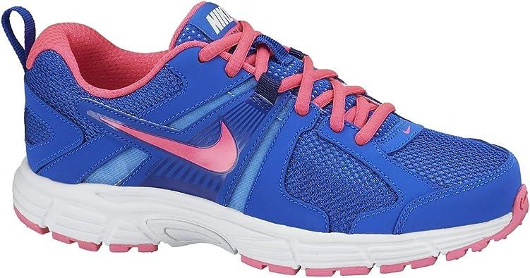 Nike Dart 10 (GS/PS), Zapatillas de Running para Niñas, Negro/Rosa/Azul (Hypr CBLT/Hypr Pnk-Unvrsty Bl), 29 1/2 EU: Amazon.es: Zapatos y complementos