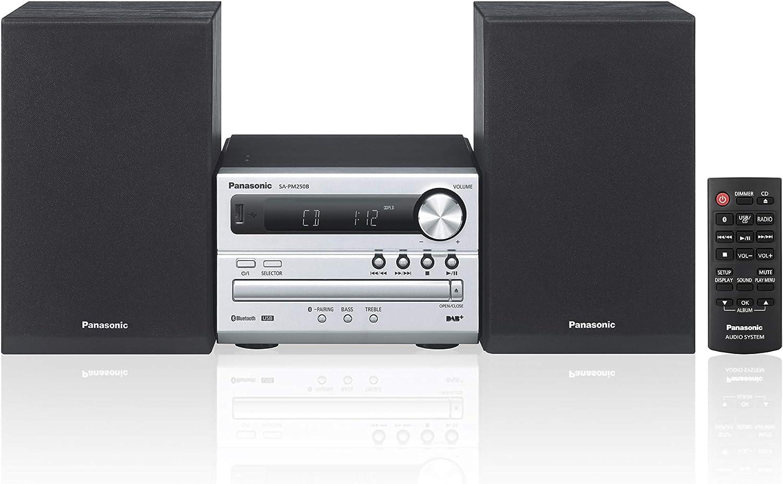 Mini Hi Fi Panasonic SC-PM250BEG-S