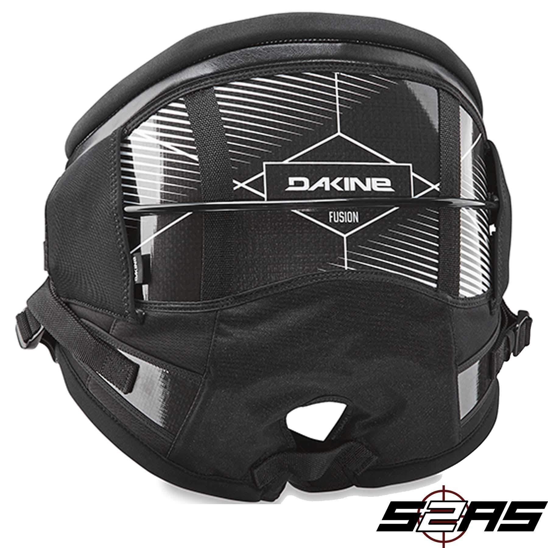 Dakine 10001842 Men's Fusion Kiteboard Harness, Black - XS