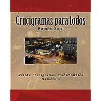 Crucigramas para todos: Veinte crucigramas tradicionales (Crucigramas para todos - Formato grande) (