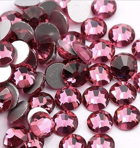 Quality Crystal AB SS16 4mm Flat Back Glass Rhinestones Diamante 1440pcs
