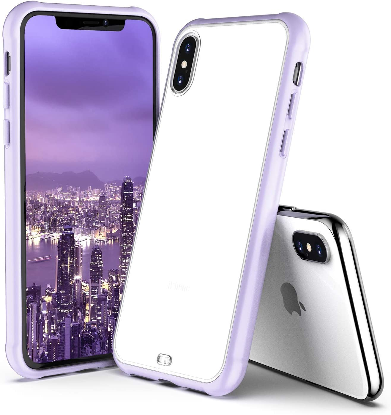 ORIbox iPhone X Case & iPhone Xs Case Clear, Translucent Matte case with Soft Edges, Lightweight, Wireless Charging