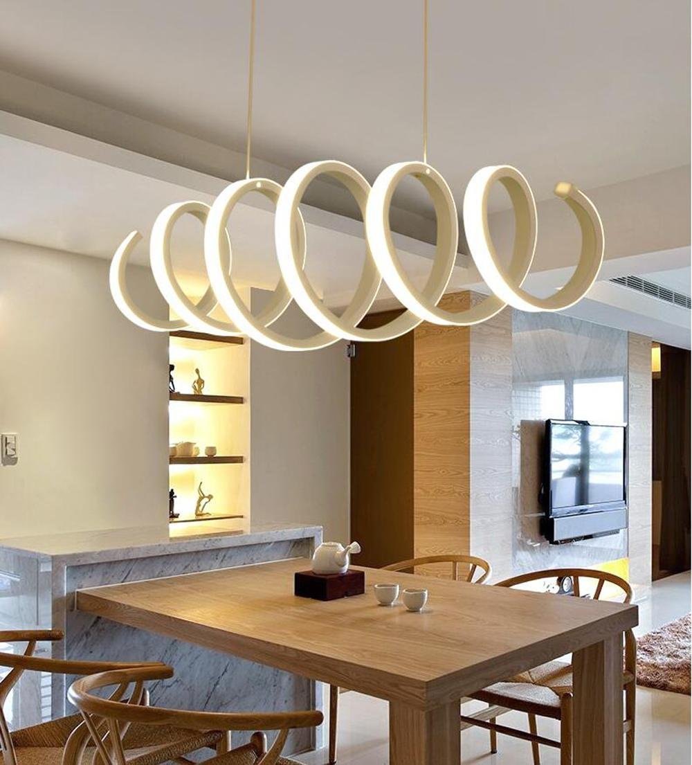 BMEI Fashional Modern Art LED Pendant Lights for indoor lighting AC 85-260V Simplicity Pendant Lamp Lighting Fixtures Chandelier , 70cm