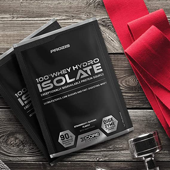 Sachet 100% Whey Hydro Isolate SS 31 g: Amazon.es: Salud y ...