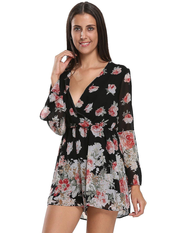 9885e0a2f50 Top 10 wholesale Black Floral Playsuit - Chinabrands.com