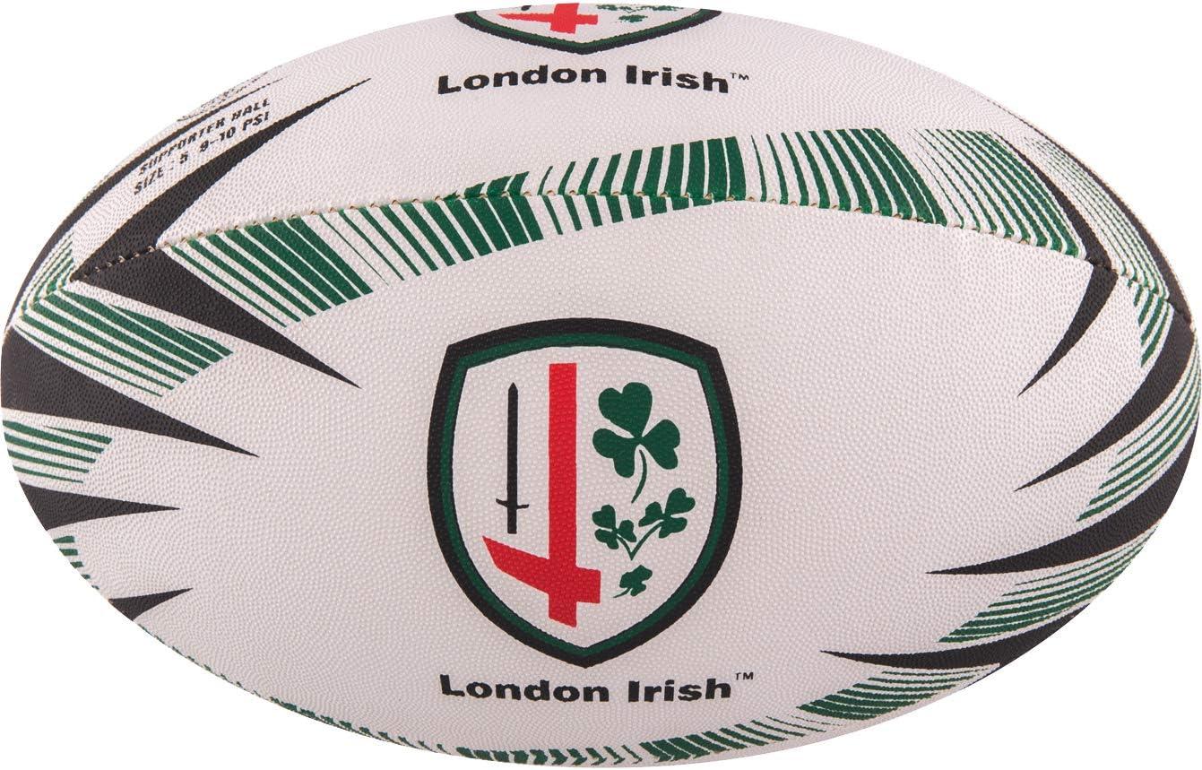 Gilbert London Irish Replica Rugby Ball Size 5
