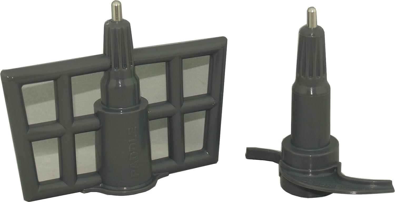 Ninja Kitchen Systems Dough Hook Paddle Set for 1100 watt BL700 40 oz Bowl