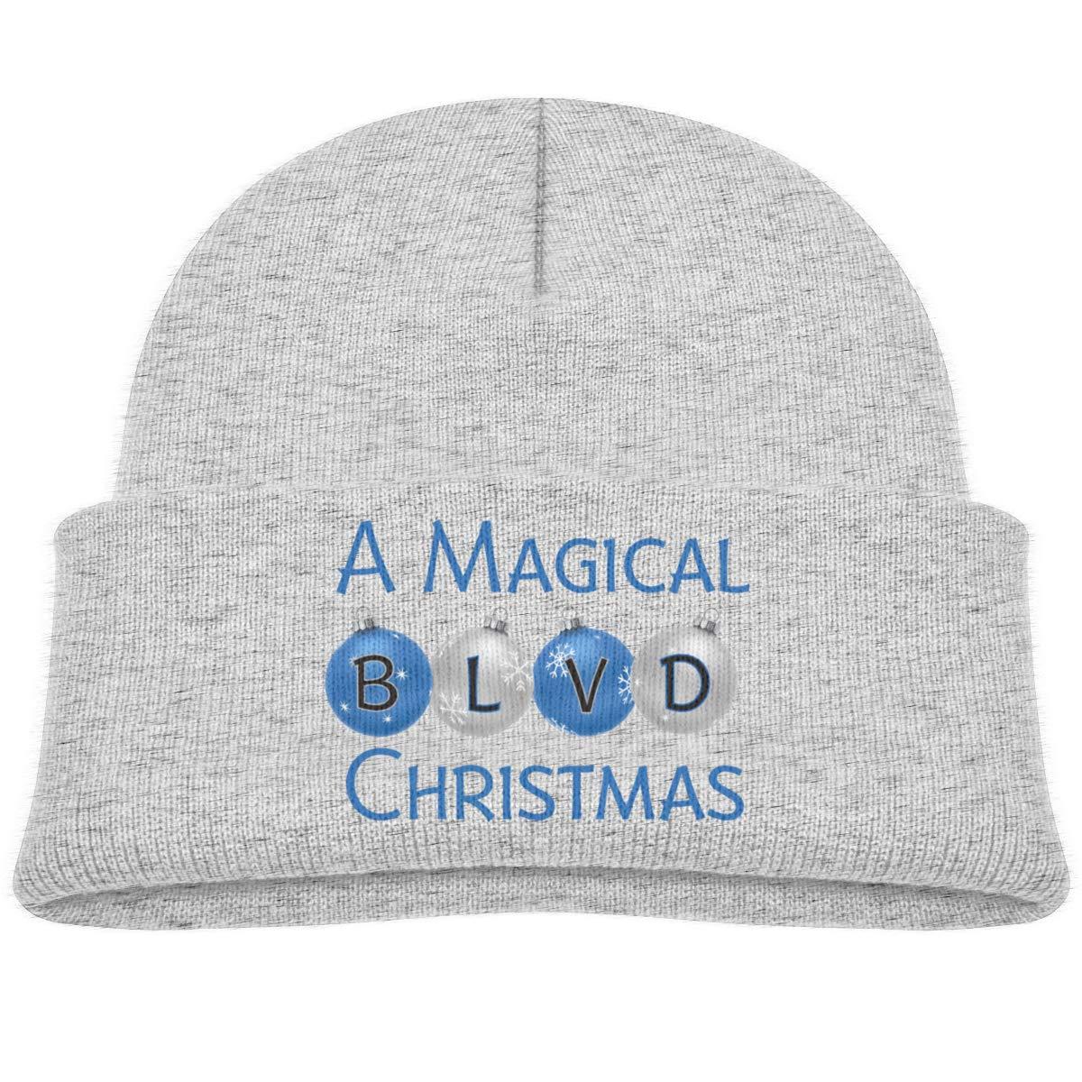 A Magical BLVD Christmas Infant Knit Hats Unisex Beanies Cap