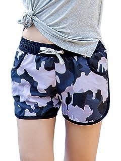 6c8e1225b9 Lau s Pantalón de baño para mujer - Bikinis shorts de playa ...