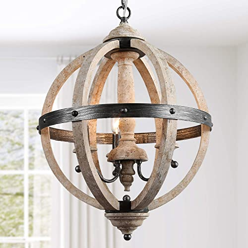 KSANA Farmhouse Foyer Chandelier