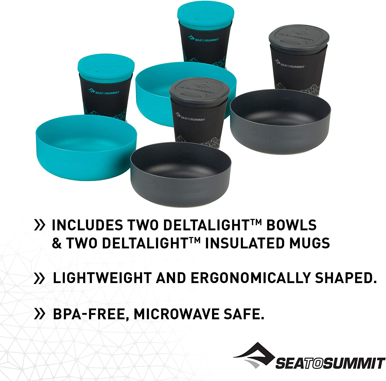 Sea to Summit Alpha 4,2 Piezas Olla Unisex